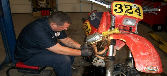 We specialize in motorcycles and all sports vehicles.