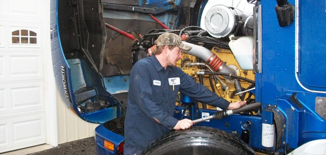 We repair pickup truck diesels, farm tractors and heavy duty trucks.